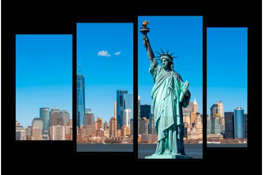 Модульная картина Статуя свободы
